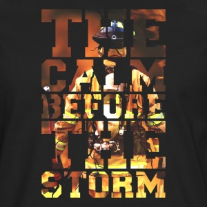 Firemen The Calm Before The Storm Fire Edition - Men's Premium Longsleeve Shirt