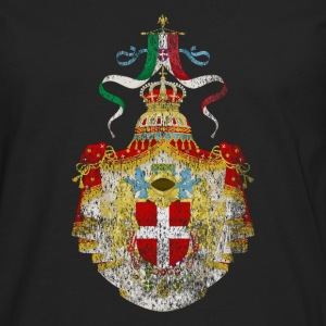 Italian Coat of Arms Italy Symbol - Men's Premium Longsleeve Shirt