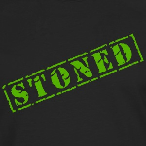 Funny Marijuana Cannabis Weed Pot Stoned - Men's Premium Longsleeve Shirt