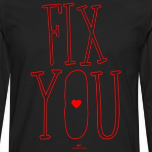 fix You - Mannen Premium shirt met lange mouwen