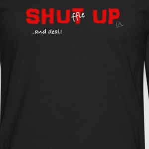 Shuffle up and deal! Poker T-Shirt - Men's Premium Longsleeve Shirt