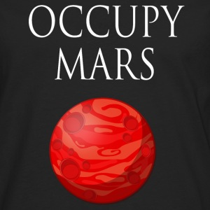 Occupy March Space - Männer Premium Langarmshirt