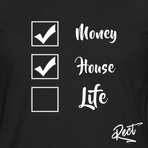 (BUT) MONEY HOUSE AND LIFE - Men's Premium Longsleeve Shirt