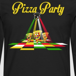 Pizza Party - T-shirt manches longues Premium Homme