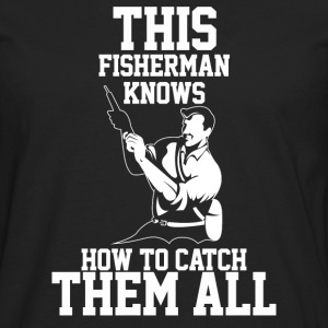 I love Fishing - Men's Premium Longsleeve Shirt