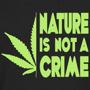 nature is not a crime - Men's Premium Longsleeve Shirt