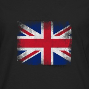 United Kingdom Flag Proud British Vintage Distress - Men's Premium Longsleeve Shirt
