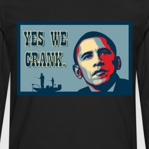 Yes We Crank! - Herre premium T-shirt med lange ærmer