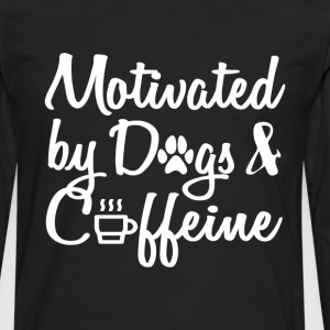 attract only by dogs and caffeine - Men's Premium Longsleeve Shirt