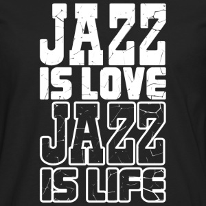 I love jazz - T-shirt manches longues Premium Homme