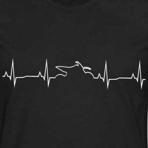 Motocross Heartbeat - shirt Motocross - T-shirt manches longues Premium Homme