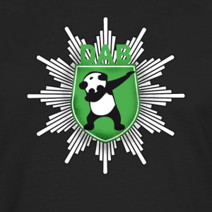 Dab coat of arms panda dabbing touchdown swag festival - Men's Premium Longsleeve Shirt