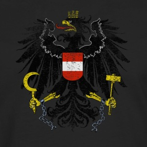 Austrian Coat of Arms Austria Symbol - Men's Premium Longsleeve Shirt