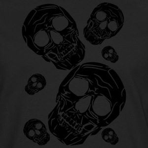 multiple skulls - Men's Premium Longsleeve Shirt