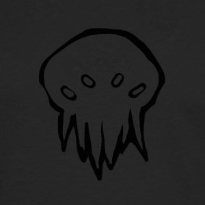 Tiny Cthulhu monster - Premium langermet T-skjorte for menn