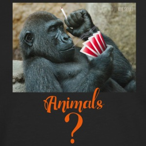 animals? Gorilla - Men's Premium Longsleeve Shirt