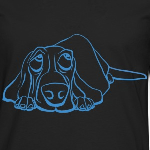 Basset got the Blues - Männer Premium Langarmshirt