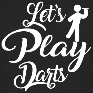Let's Play Darts - Men's Premium Longsleeve Shirt