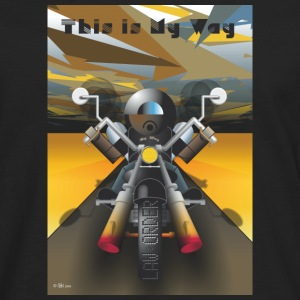This_is_My_Way - Långärmad premium-T-shirt herr