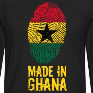 Made in Ghana / Made in Ghana - Premium langermet T-skjorte for menn