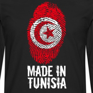 Made in Tunesien / Made in Tunesien تونس ⵜⵓⵏⴻⵙ - Herre premium T-shirt med lange ærmer