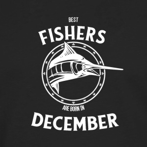 Present for fishers born in December - Men's Premium Longsleeve Shirt