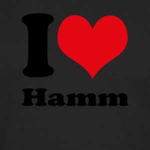 I love Hamm - Men's Premium Longsleeve Shirt