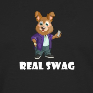 Real Swag dog - Men's Premium Longsleeve Shirt