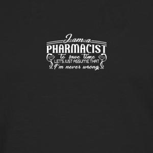 pharmacist - Men's Premium Longsleeve Shirt