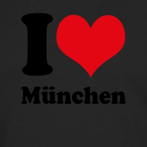 I love Munich - Men's Premium Longsleeve Shirt