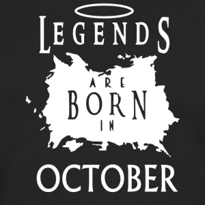 Legends October Birthday - Men's Premium Longsleeve Shirt