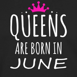 Queens are born in June - Men's Premium Longsleeve Shirt