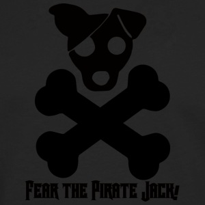 Chien / Jack Russell: Fear The Pirate Jack! - T-shirt manches longues Premium Homme