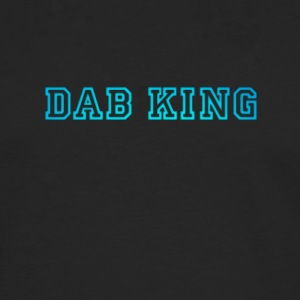 dab dabbing King Football touchdown cool fun sport - Men's Premium Longsleeve Shirt