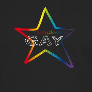 Gay star rainbow csd pride demo fabulous love lol - Men's Premium Longsleeve Shirt
