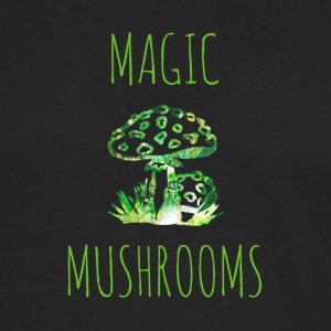 Magiska svampar Magic Mushrooms Toadstool - Långärmad premium-T-shirt herr