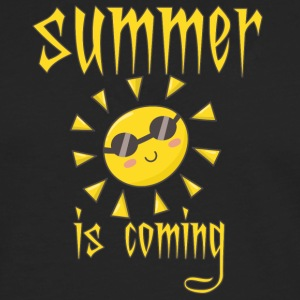 summer is coming - Männer Premium Langarmshirt