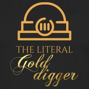 Mining: The literal Gold Digger - Men's Premium Longsleeve Shirt
