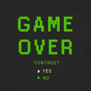 Game Over. Continue? YES - NO - Männer Premium Langarmshirt