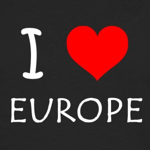 I love Europe - Men's Premium Longsleeve Shirt