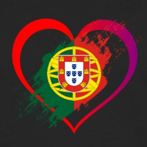 I LOVE PORTUGAL COLLECTION - Männer Premium Langarmshirt