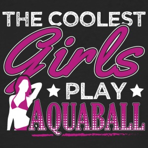 COOLEST GIRLS PLAY AQUABALL - Männer Premium Langarmshirt