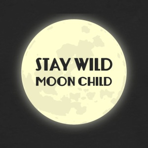 Hippie / Hippies: Bo Wild Moonchild - Långärmad premium-T-shirt herr