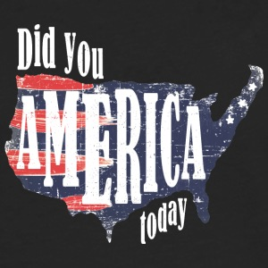 Did You America Today - Men's Premium Longsleeve Shirt