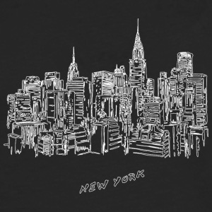 New York City - USA - Herre premium T-shirt med lange ærmer