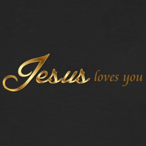Jesus loves you - Men's Premium Longsleeve Shirt