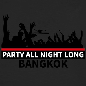 BANGKOK - Party - Premium langermet T-skjorte for menn