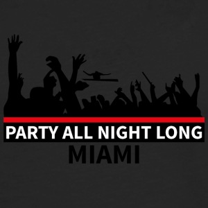 MIAMI Party - Mannen Premium shirt met lange mouwen