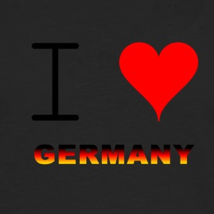 I LOVE GERMANY COLLECTION - Men's Premium Longsleeve Shirt