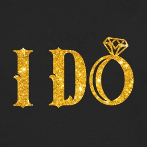 Mariage / Mariage: I Do - T-shirt manches longues Premium Homme
